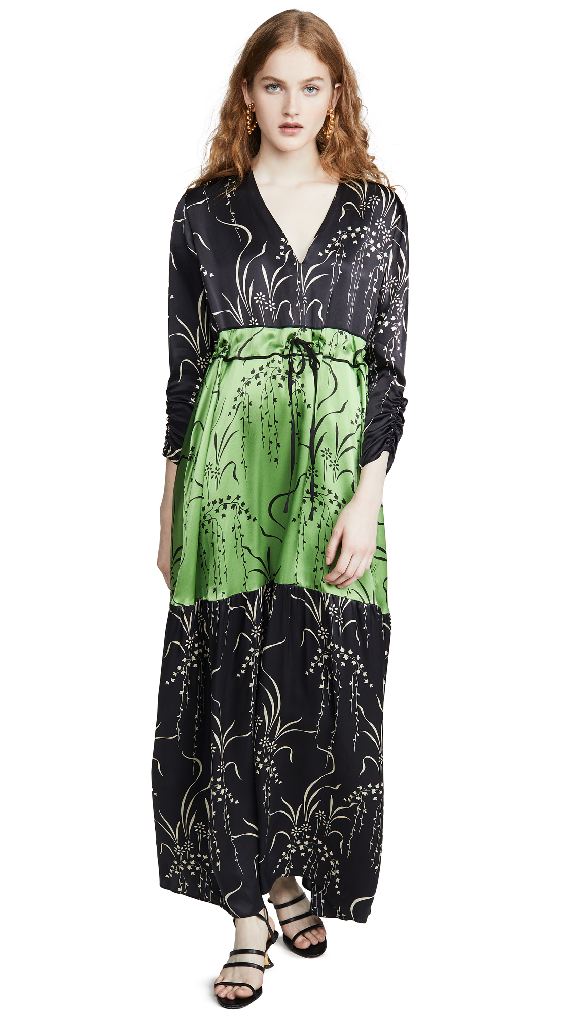 Buy VEDA online - photo of VEDA Swan Silk Dress