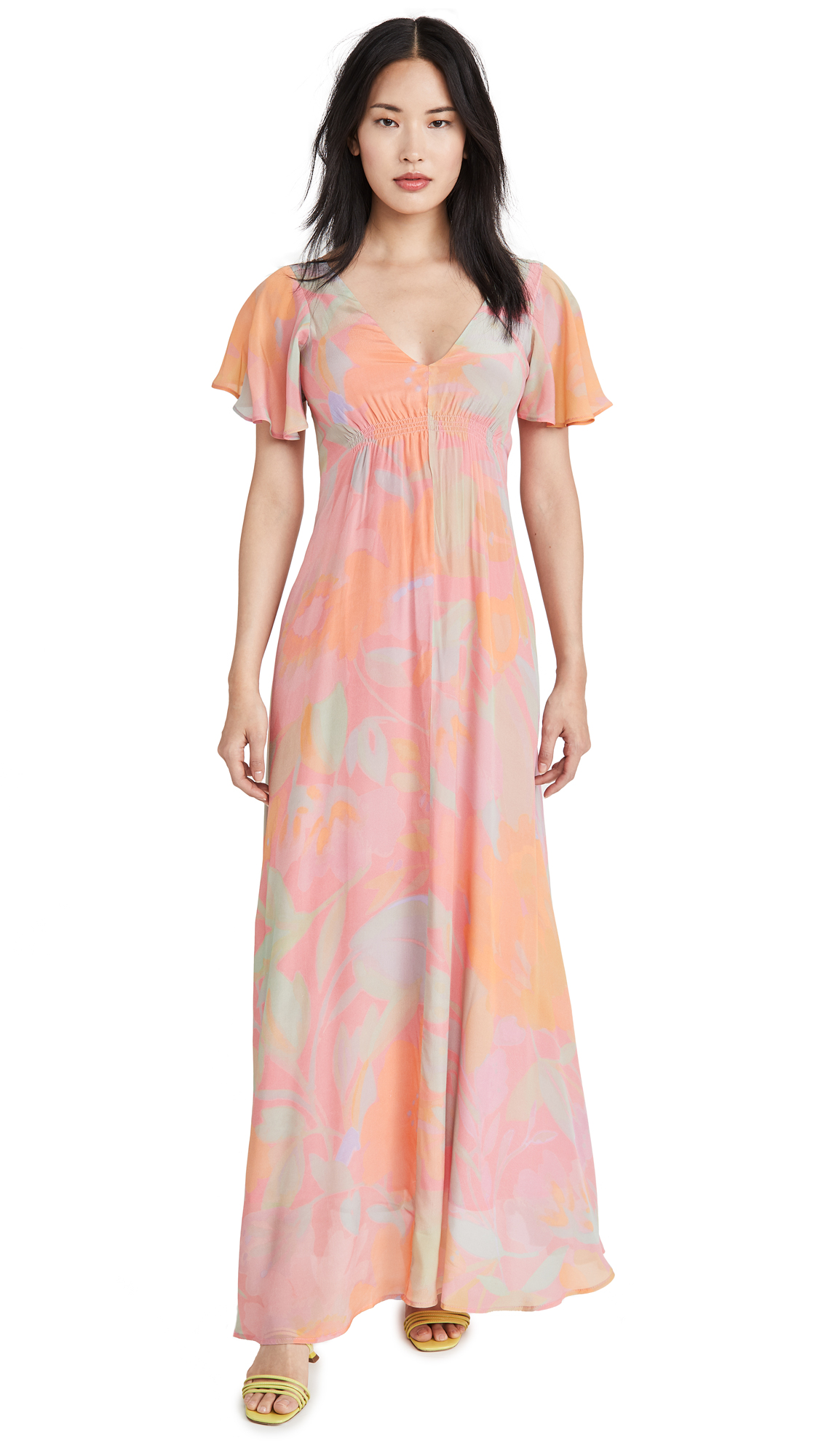 VEDA Corazon Crepe Dress - 30% Off Sale