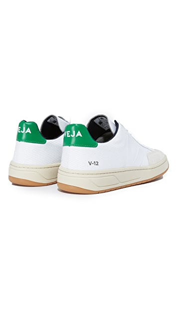 Veja V-12 Leather Sneakers