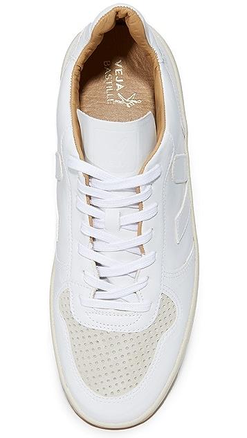 Veja V-10 Bastille Leather Sneakers