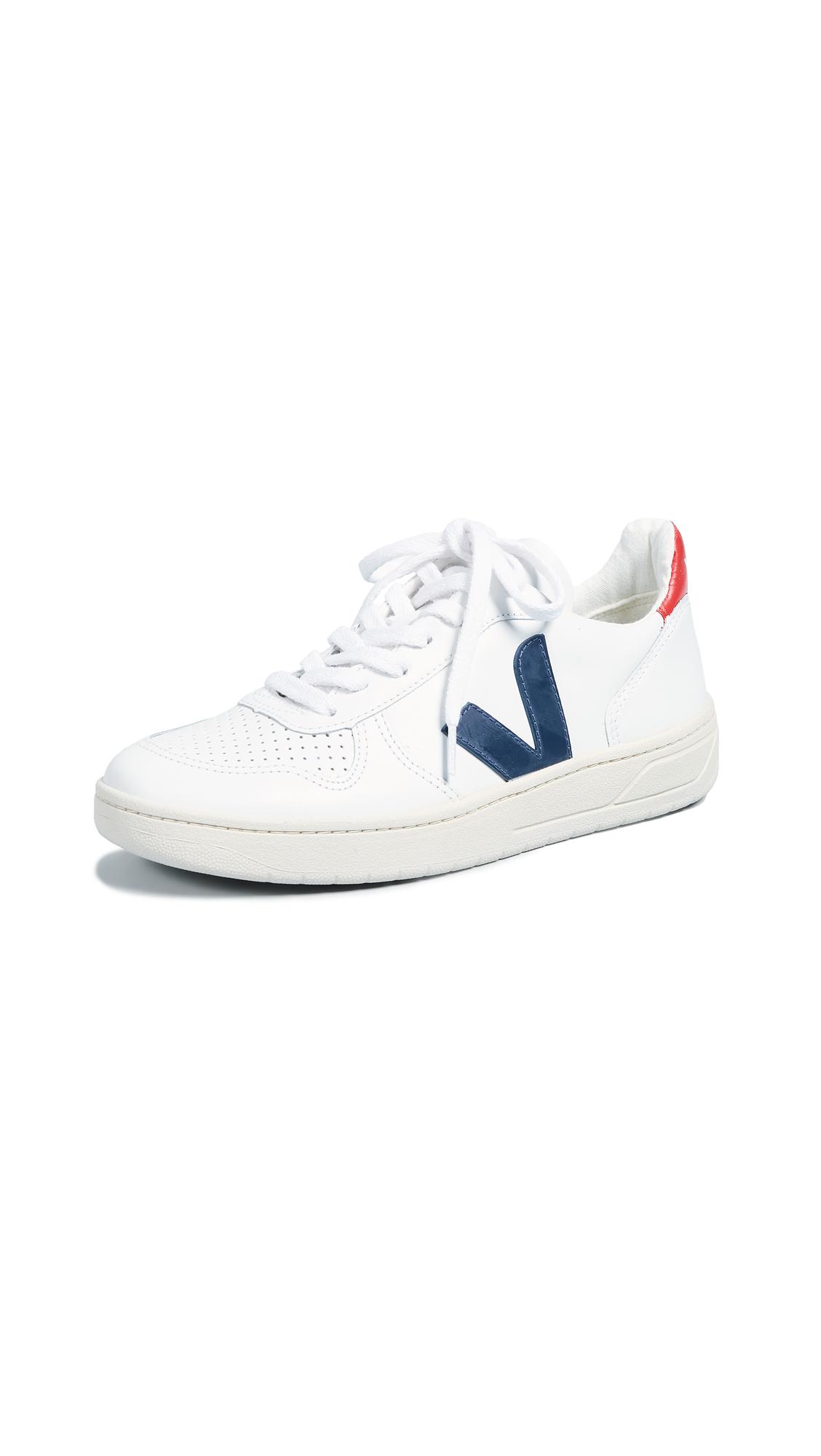 Veja V-10 Sneakers - White/Nautico/Pekin