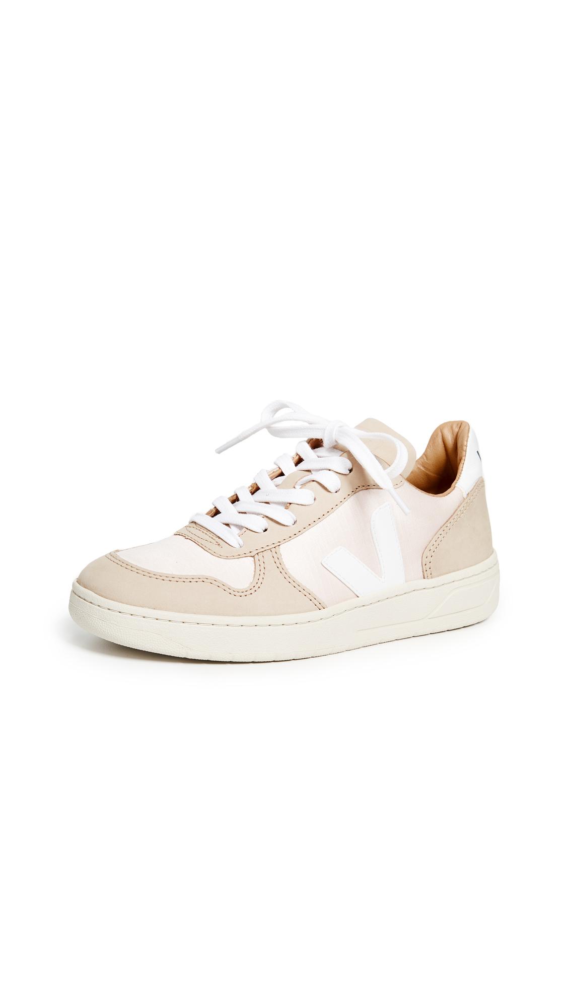 Veja V-10 Bastille Sneakers - Quartz/Almond/White