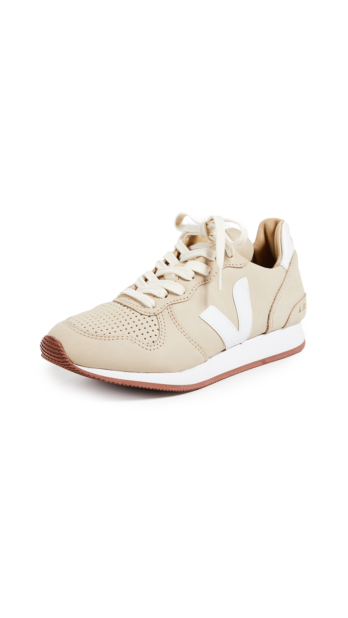 Veja Holiday Bastille Sneakers - Almond/White