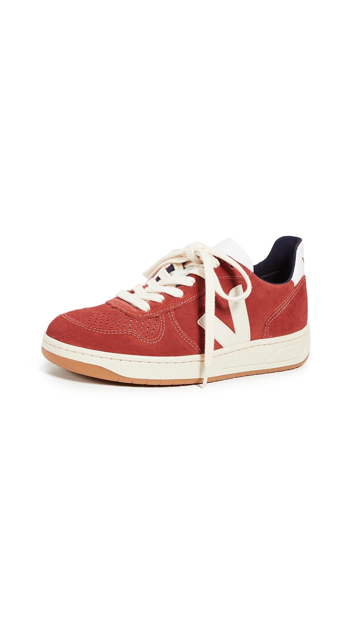 Veja V-10 Sneakers - Rouille Pierre
