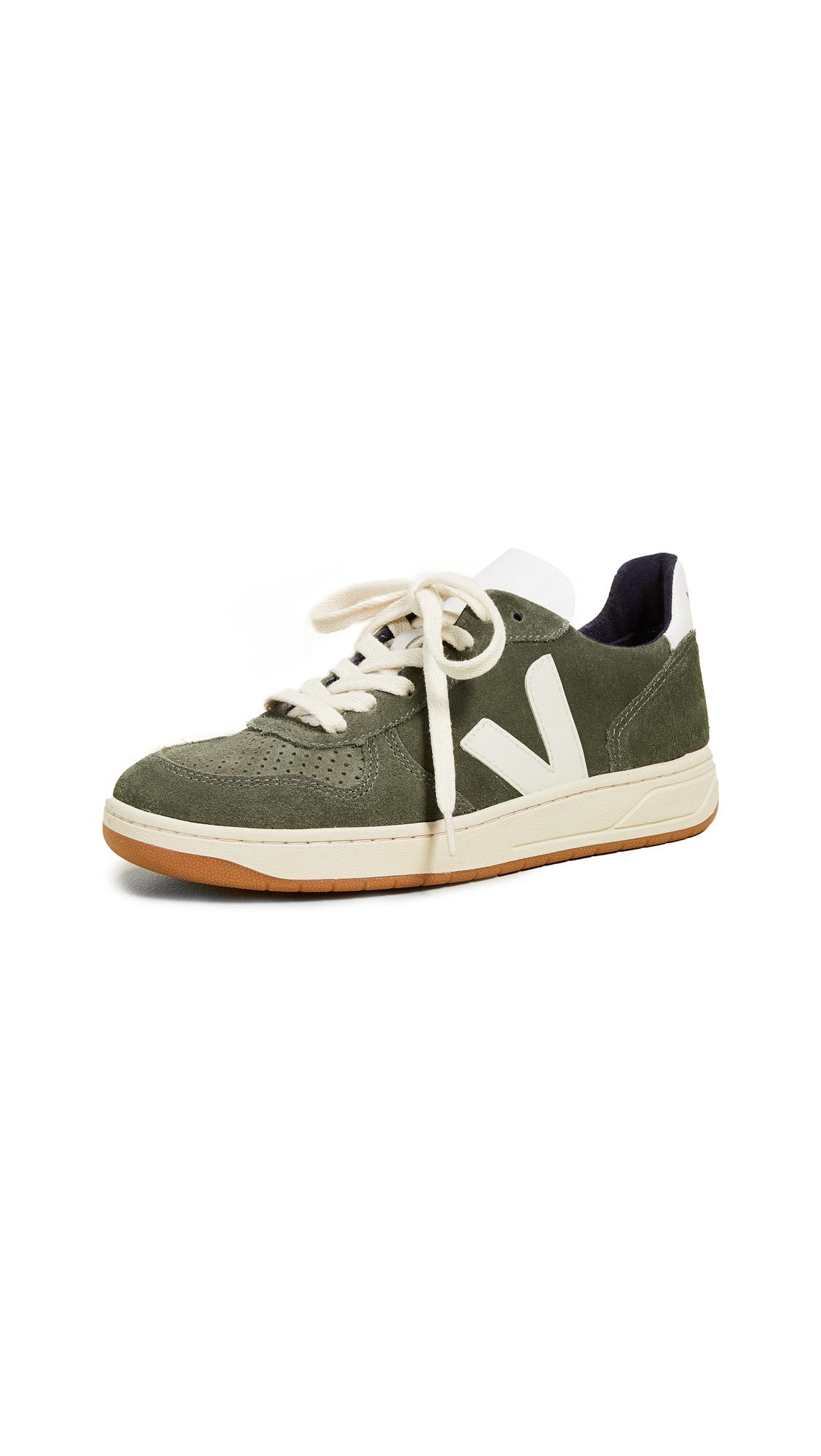 Veja V-10 Sneakers - Olive Pierre