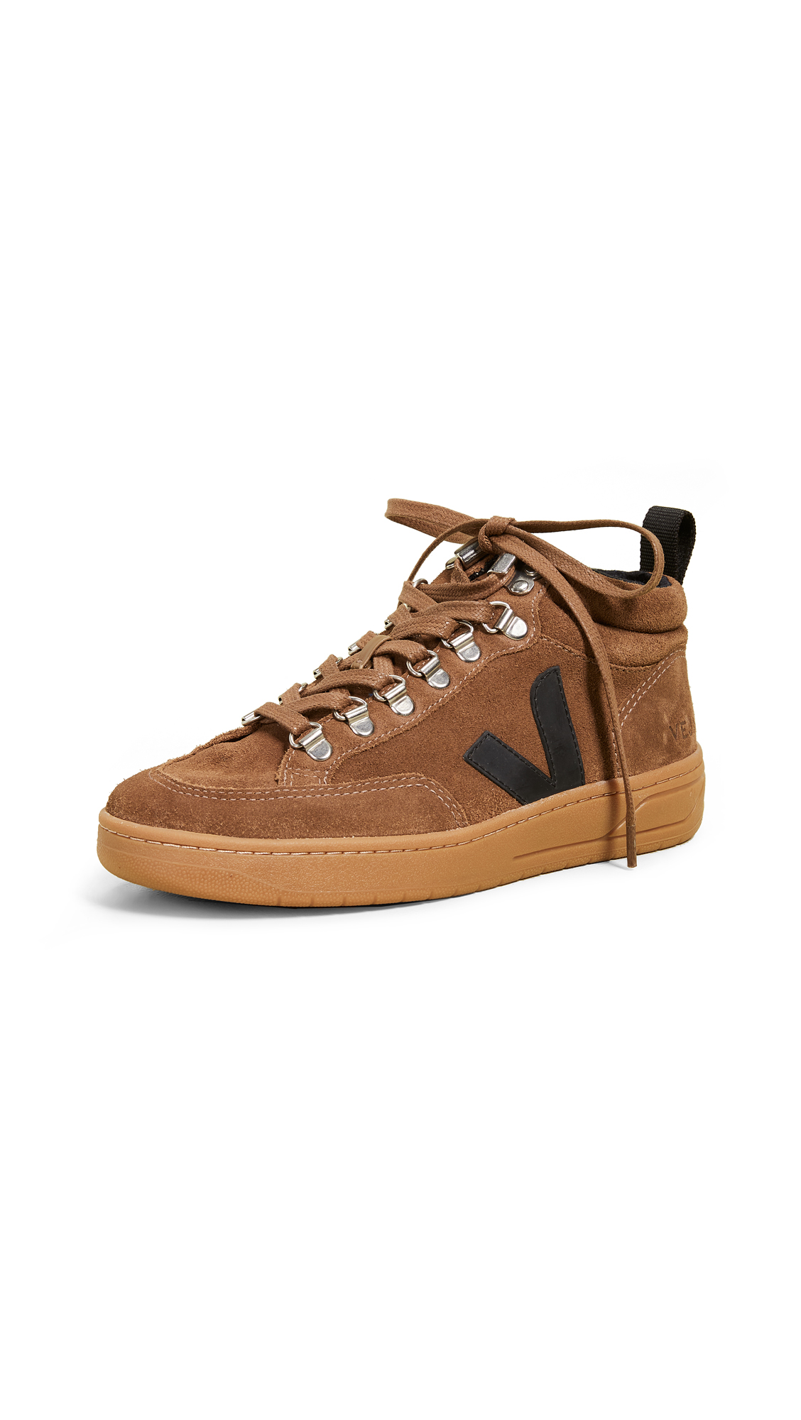 Veja Roraima Sneaker Boots - Brown/Black/Natural