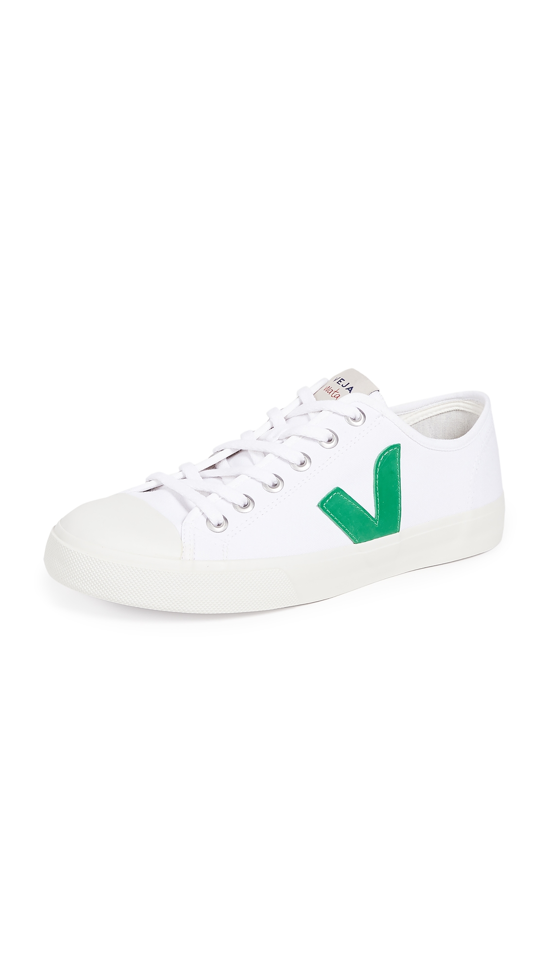 VEJA Wata Canvas Sneakers in White