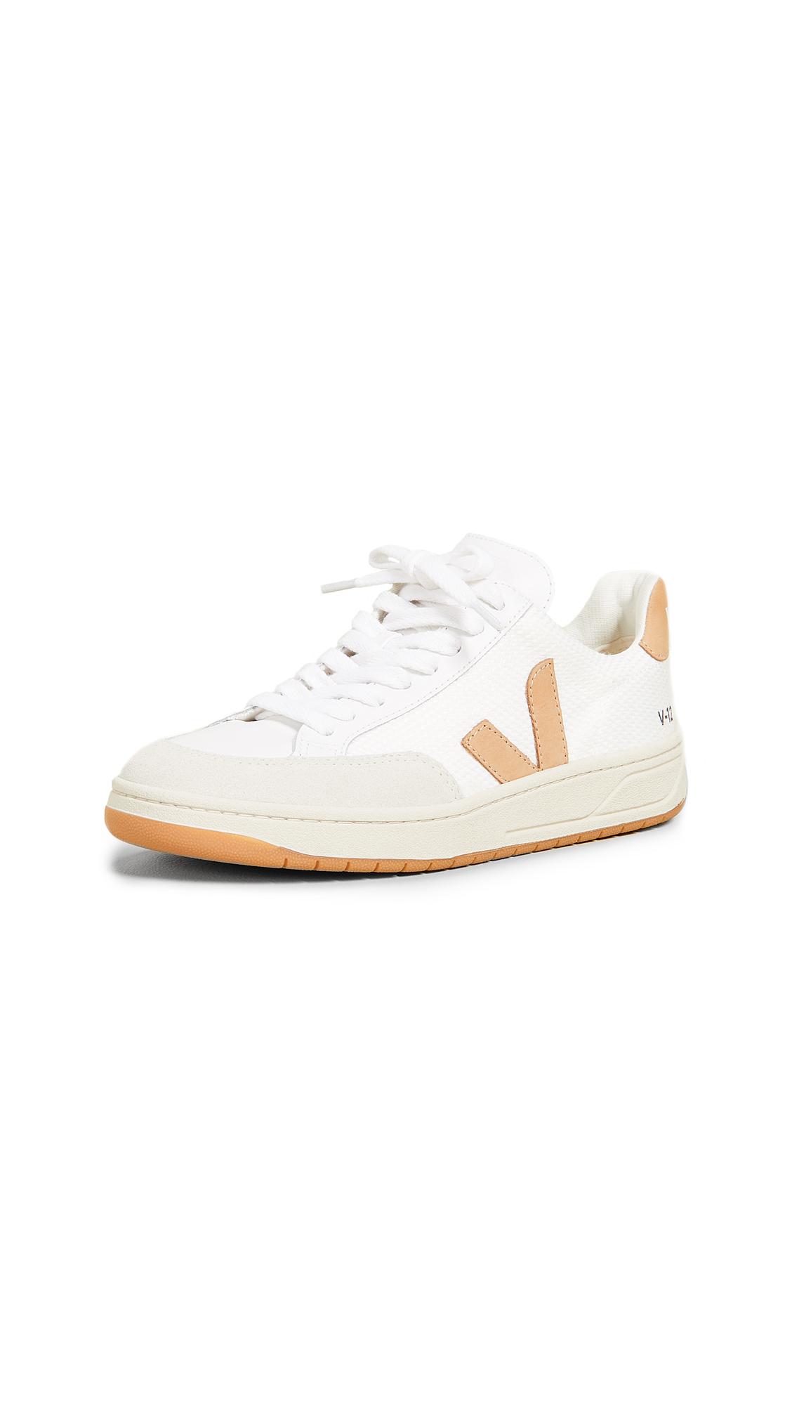 Veja V-12 Sneakers - White/Desert