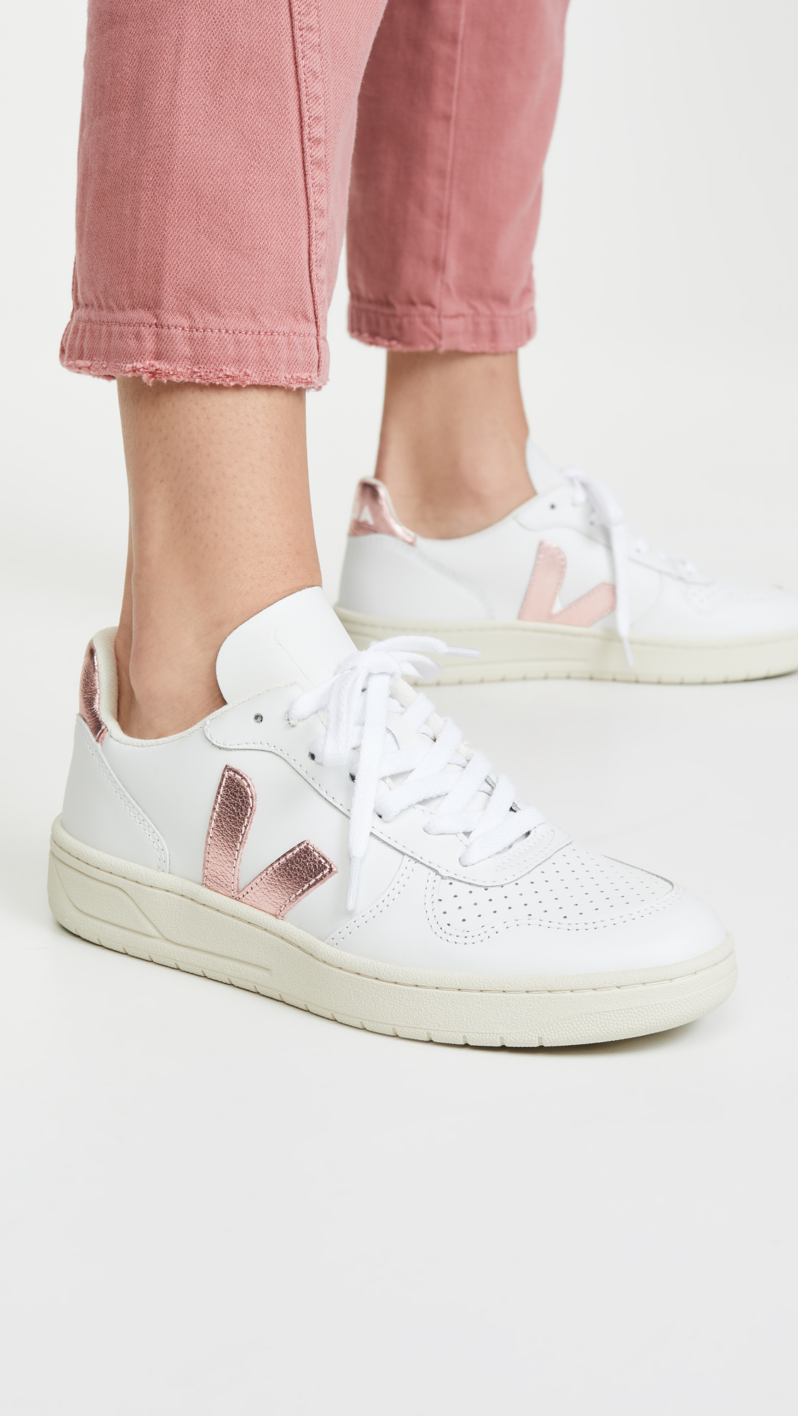 veja perforated toe sneakers order