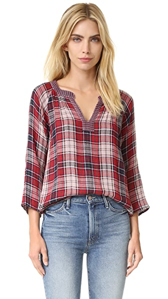 Velvet Zuri Plaid Shirt