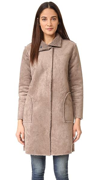 Velvet Mirabella Reversible Coat