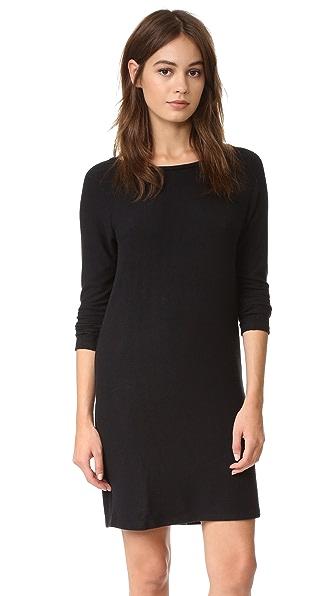 Velvet Katya Cozy Jersey Dress In Black