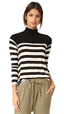 velvet stripe top overt nyc