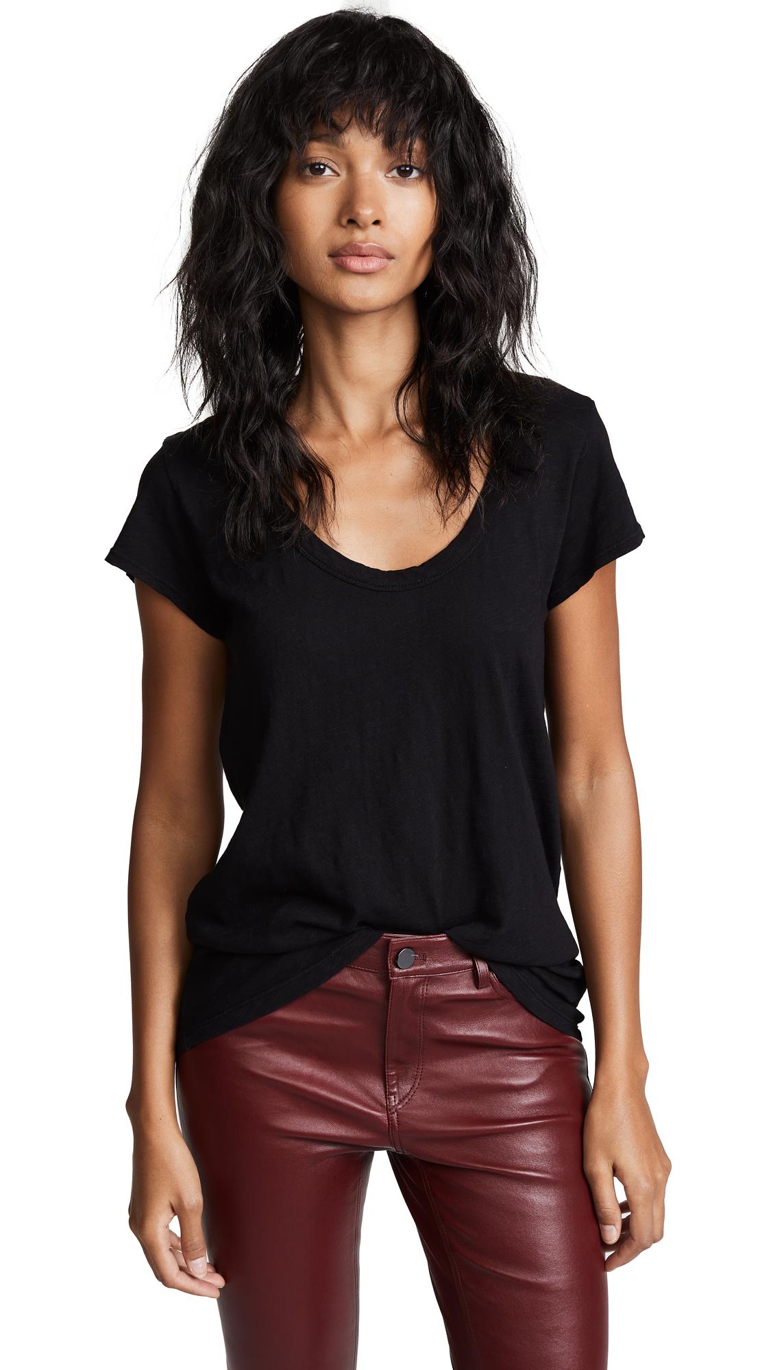 Velvet Velvet Original T-Shirt In Black
