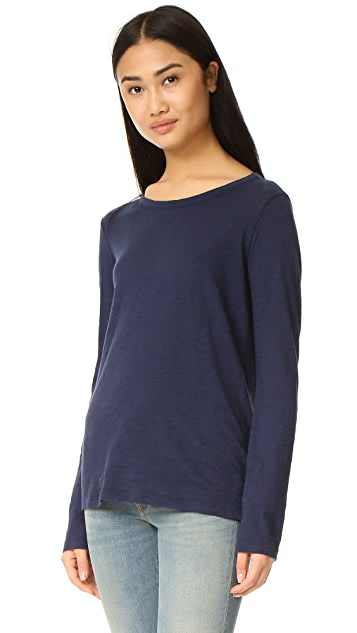 Velvet Lizzie Long Sleeve Top