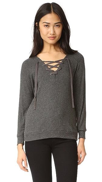 Velvet Billow Sweater