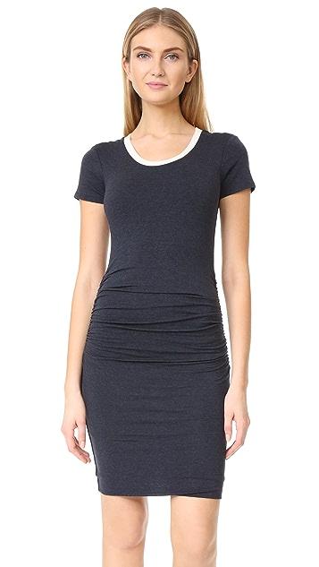Velvet Saxa Dress