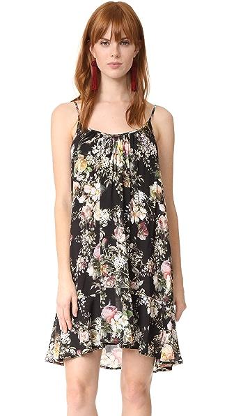 Velvet Tamera Dress - Black Floral