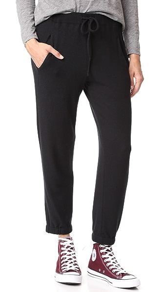 Velvet Alsie Sweatpants In Black
