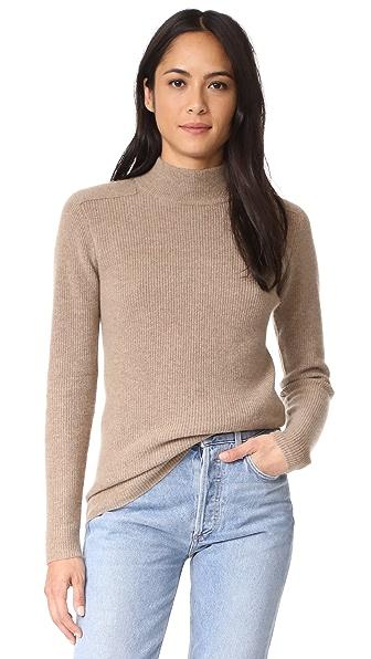Velvet Bailee Cashmere Sweater - Camel
