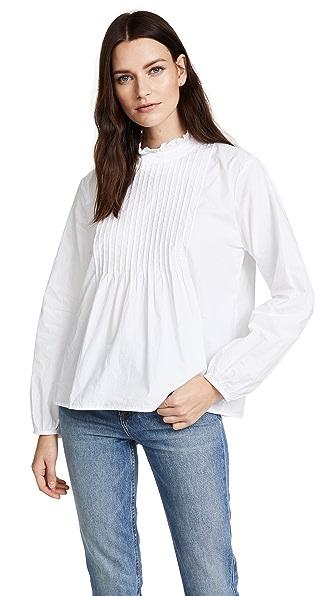 Velvet Nabia Blouse In White