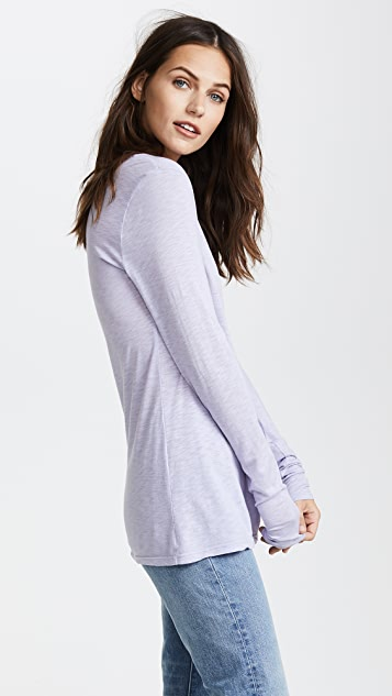 Velvet Giana Long Sleeve Tee