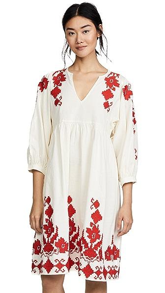 Velvet Jora Dress In Cream