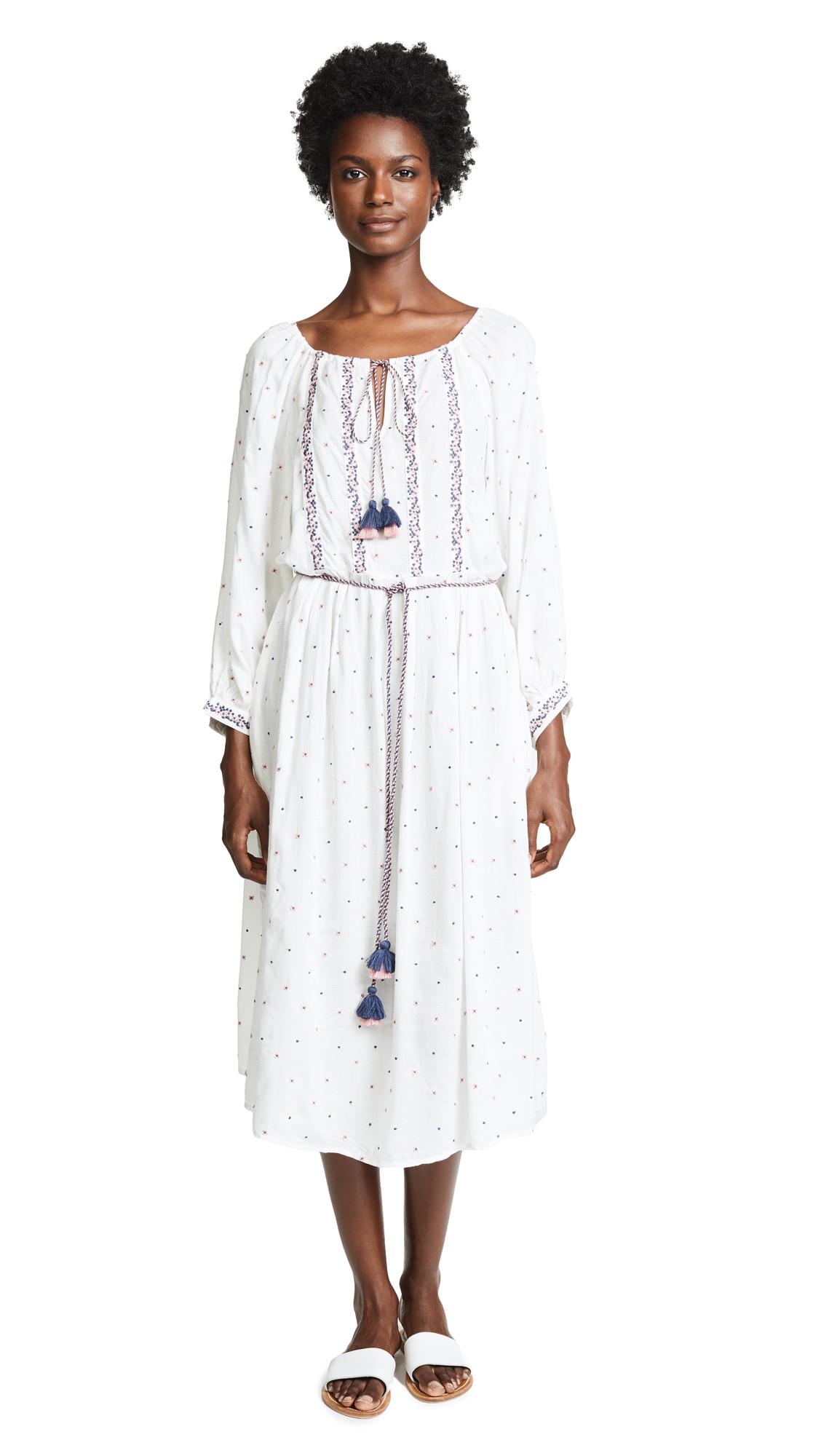 ISILDA EMBROIDERED DRESS
