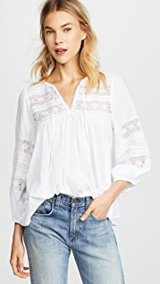 Velvet Evie 蕾丝女式衬衫