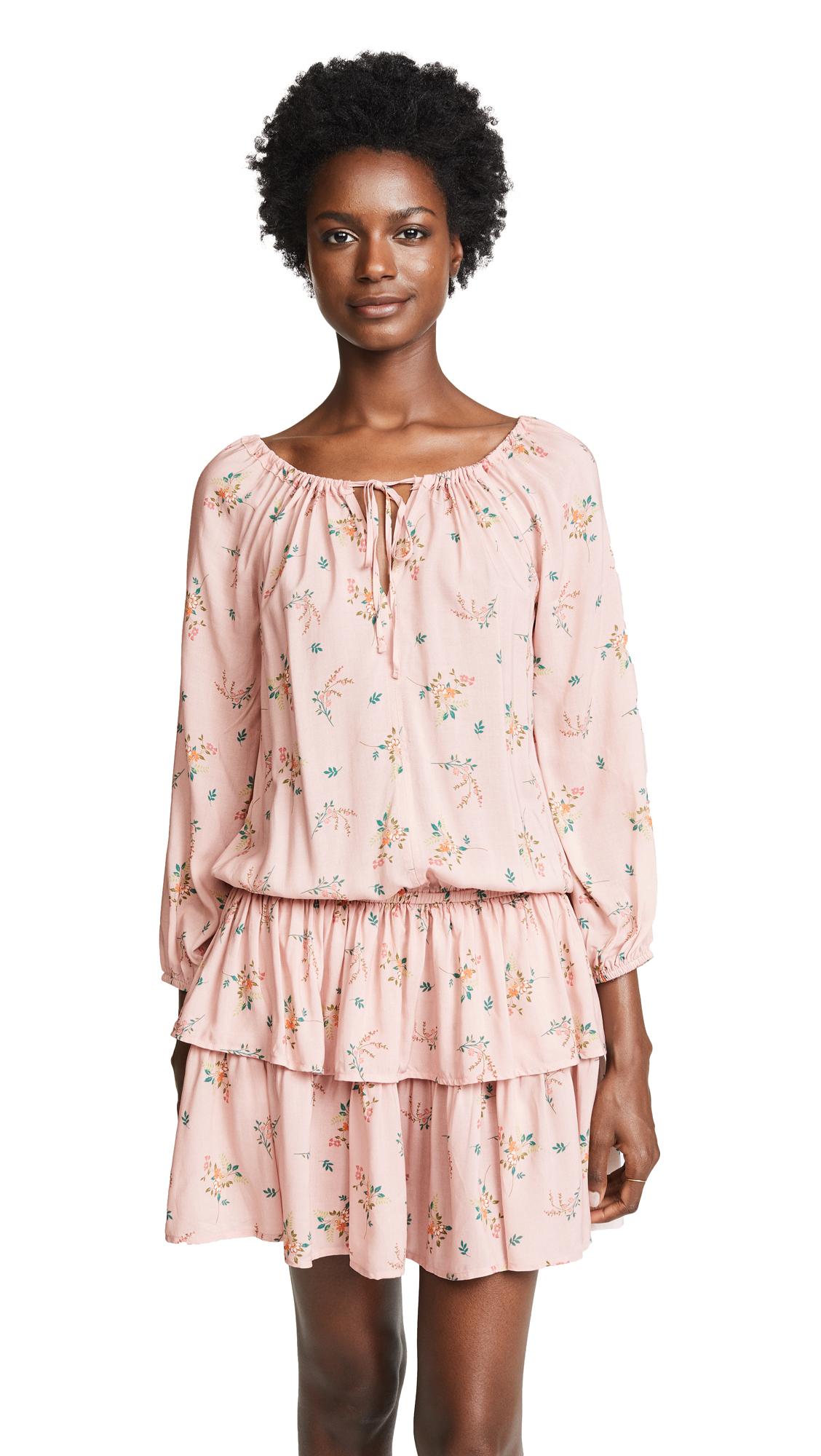 Velvet Nance Long Sleeve Mini Dress