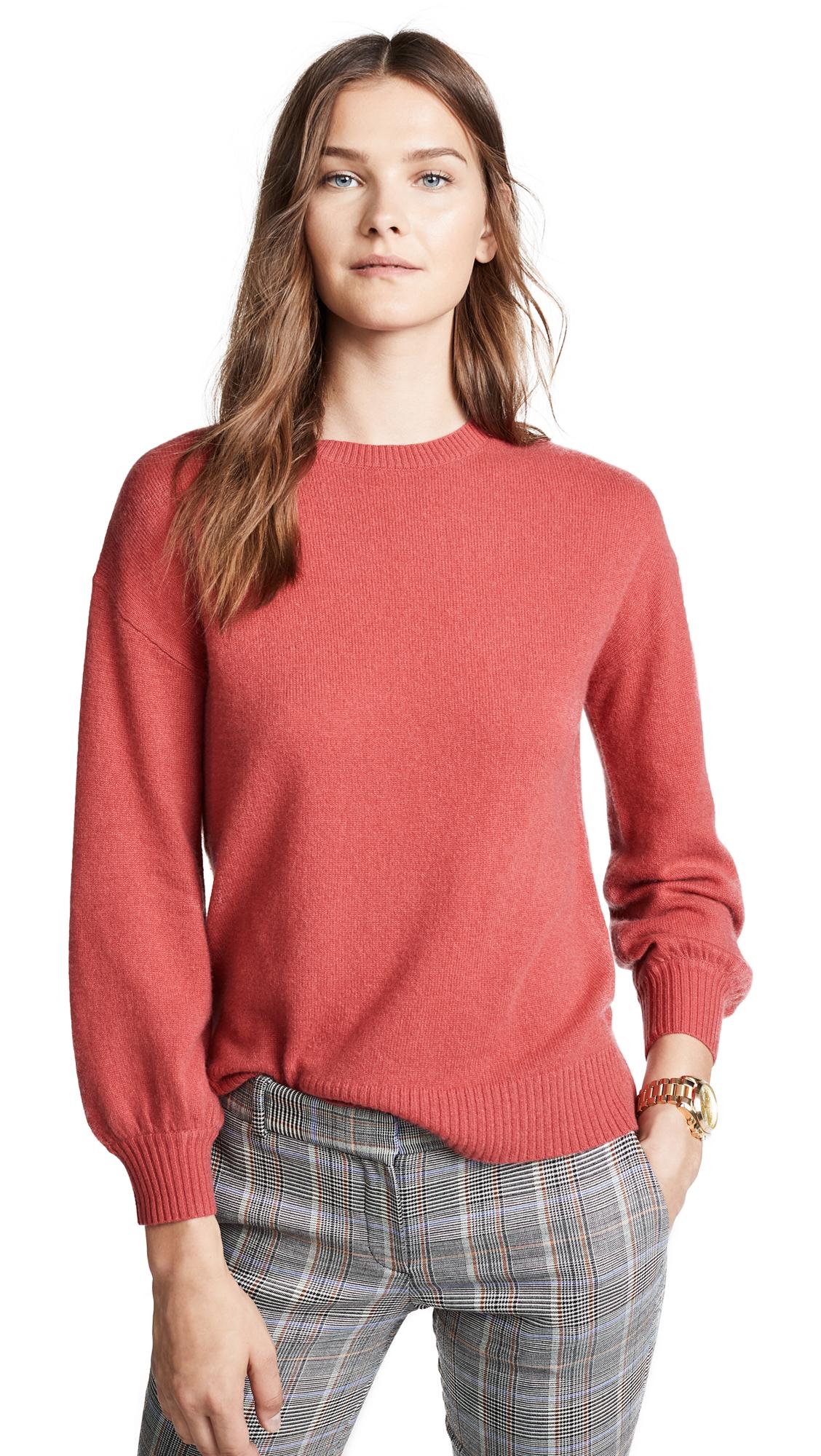 Velvet Selina Cashmere Sweater In Snapper