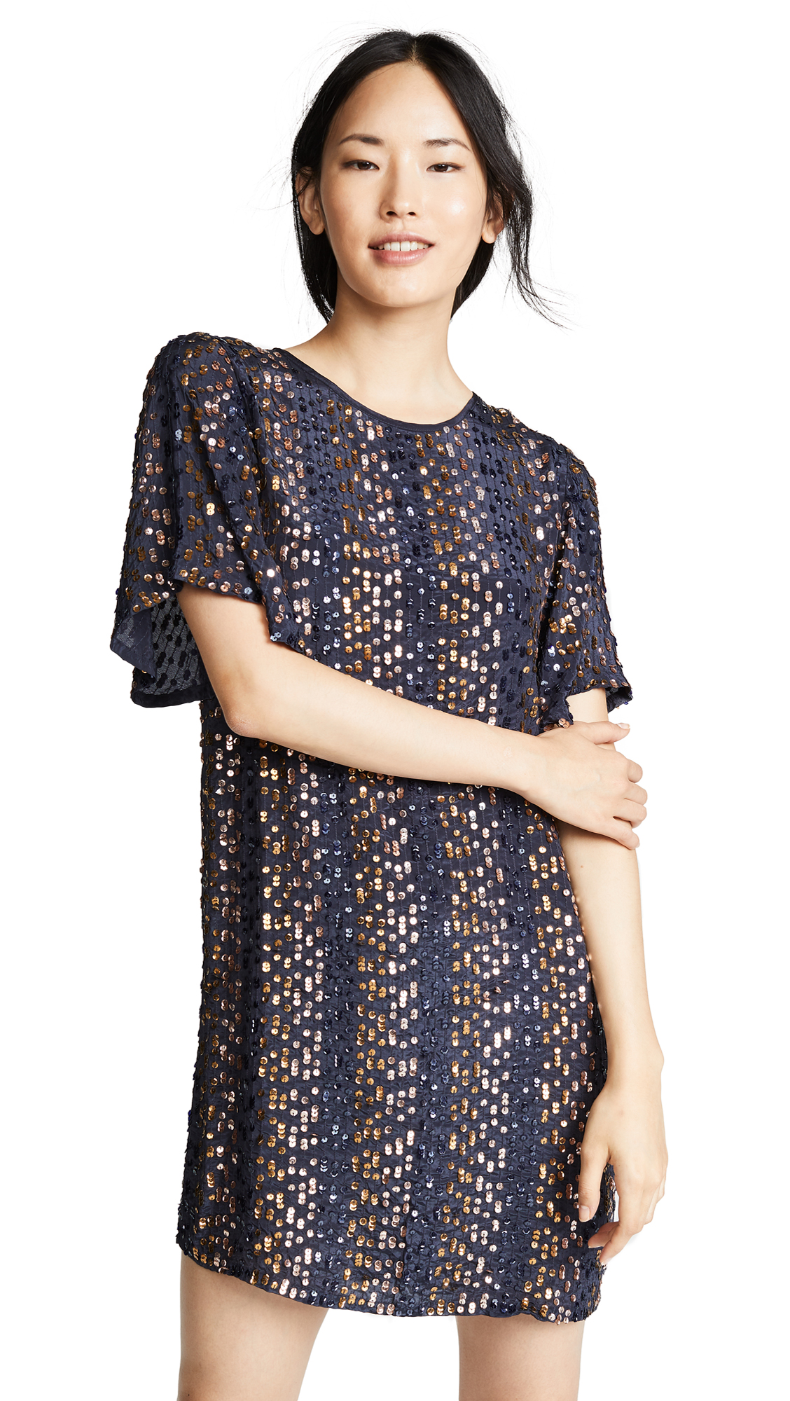 Vivi Sequin Dress in Multi