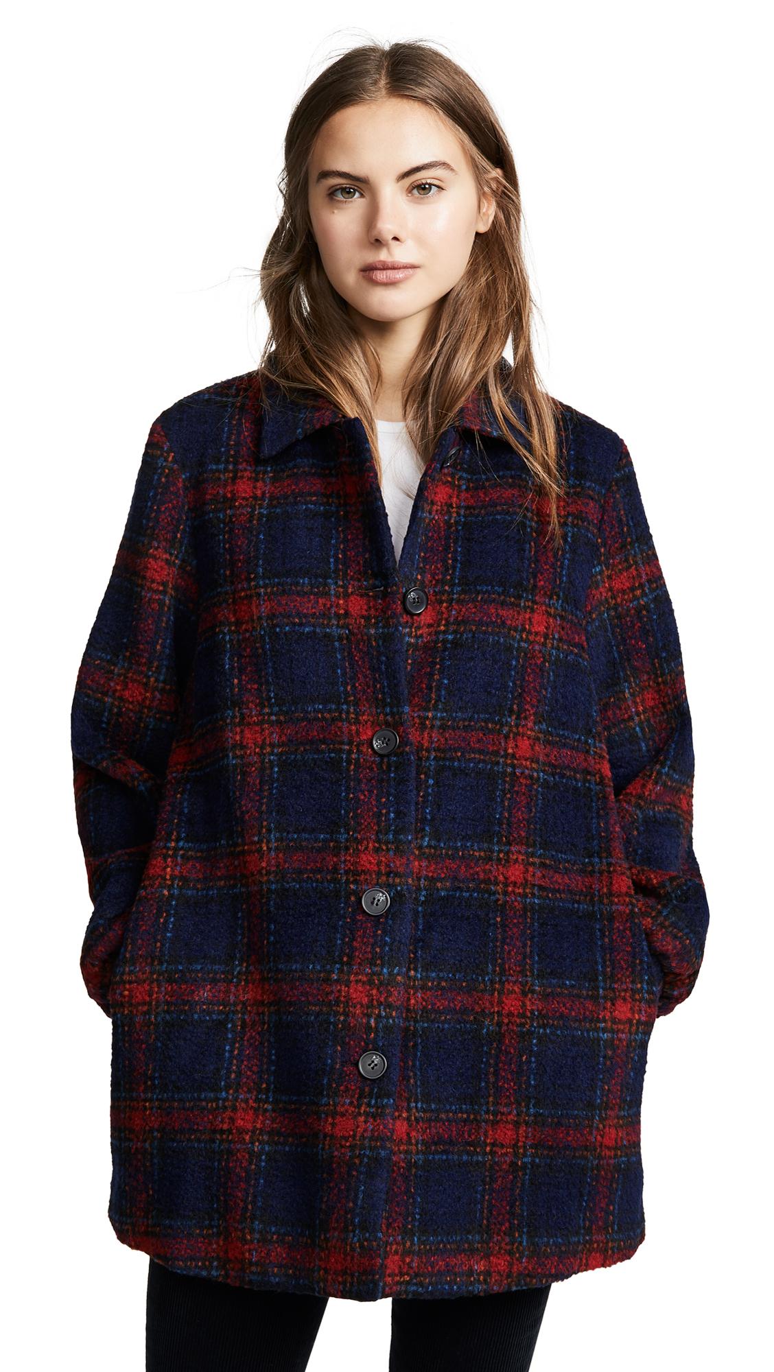 Velvet Colette Plaid Jacket In Multi