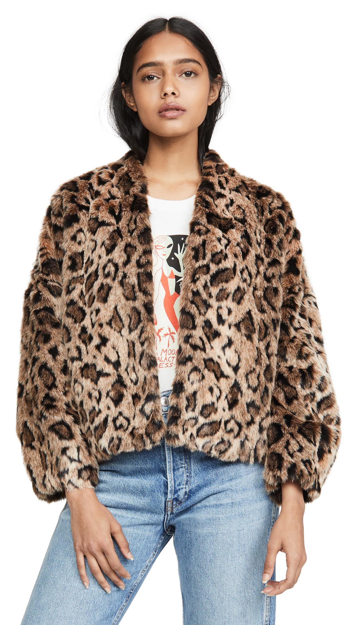 Buy Velvet online - photo of Velvet Anne Faux Fur Jacket