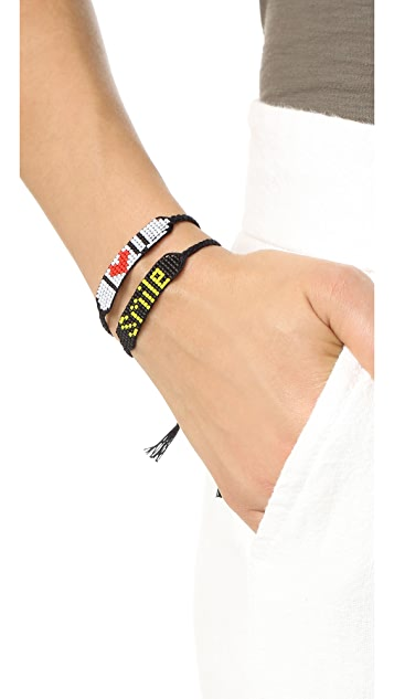 Venessa Arizaga I Love You Bracelet