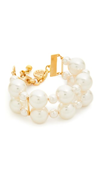 Venessa Arizaga Sugar High Imitation Pearl Bracelet