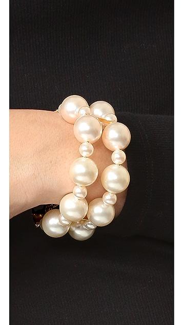 Venessa Arizaga Sugar High Imitation Pearl Bracelet