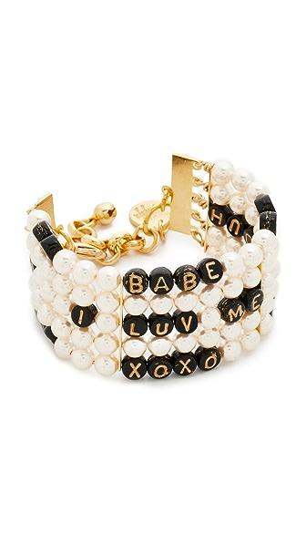 Venessa Arizaga Whatcha Say Imitation Pearl Bracelet