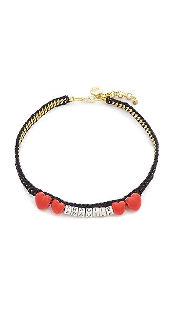 Venessa Arizaga Fragile Necklace