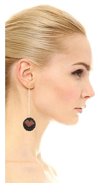 Venessa Arizaga Addicted 2 Luv Earrings
