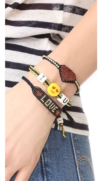 Venessa Arizaga Crush on You Bracelet