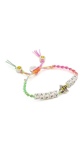 Venessa Arizaga Happy Bee Day Bracelet