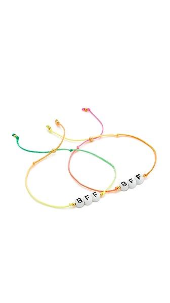 Venessa Arizaga BFF Bracelet Set