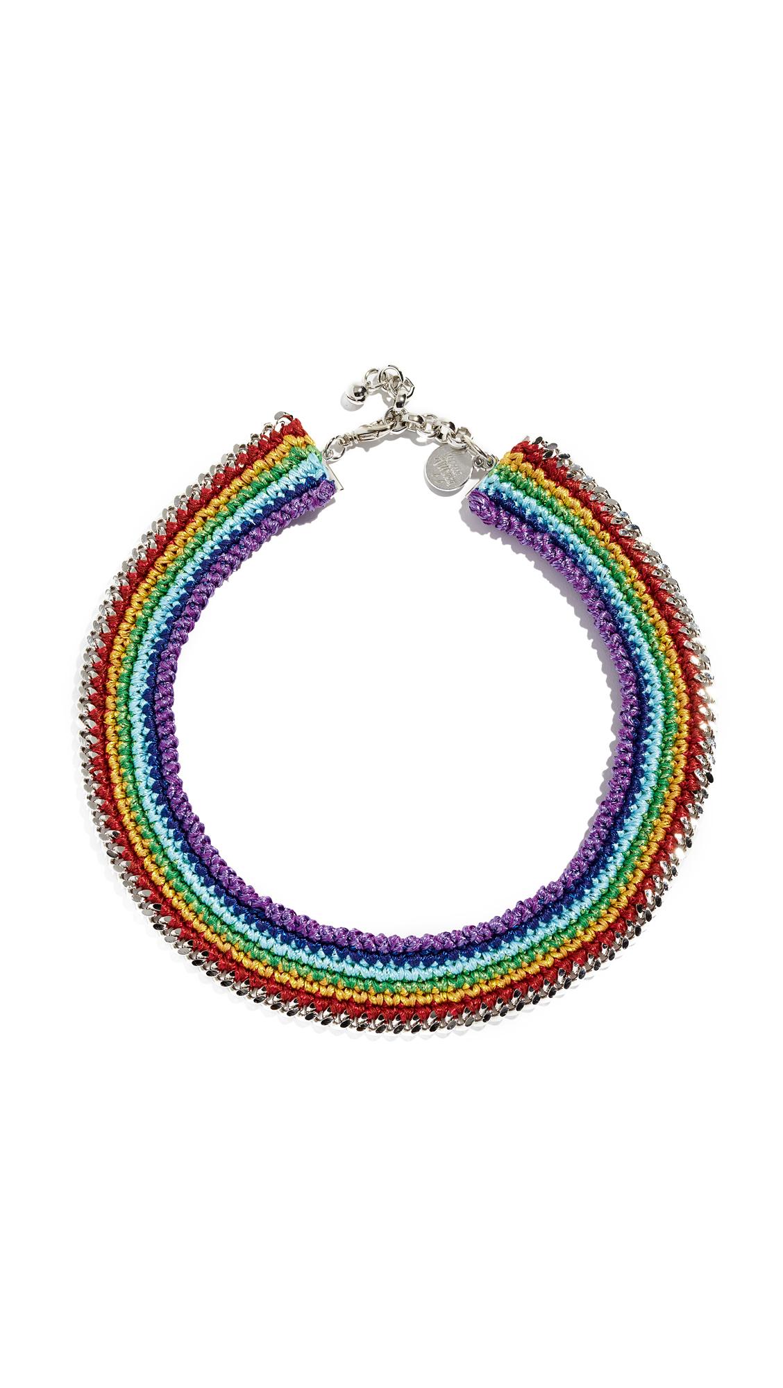 VENESSA ARIZAGA Chasing Rainbow Necklace in Multi