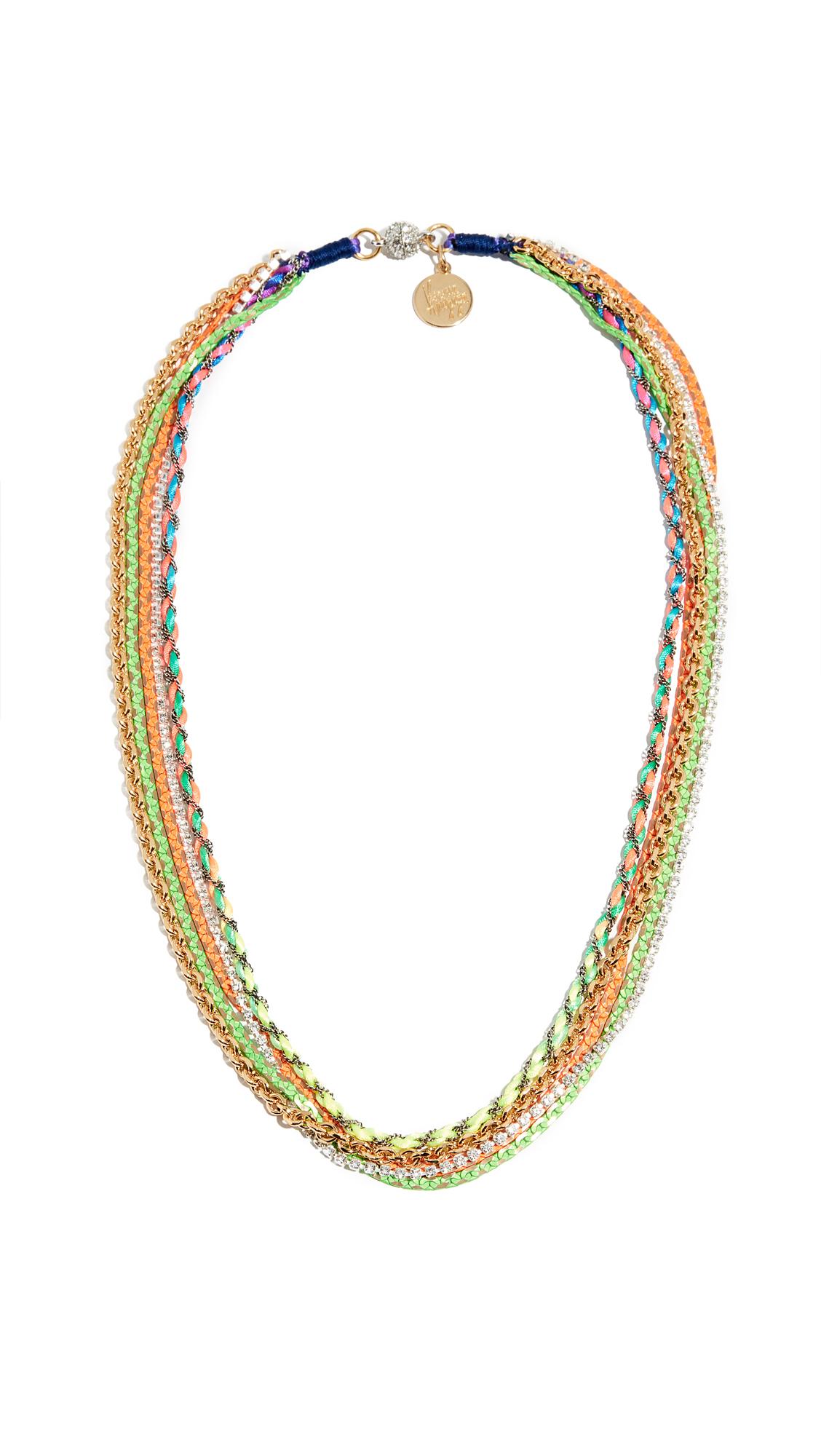 VENESSA ARIZAGA She'S A Rainbow Necklace in Multi