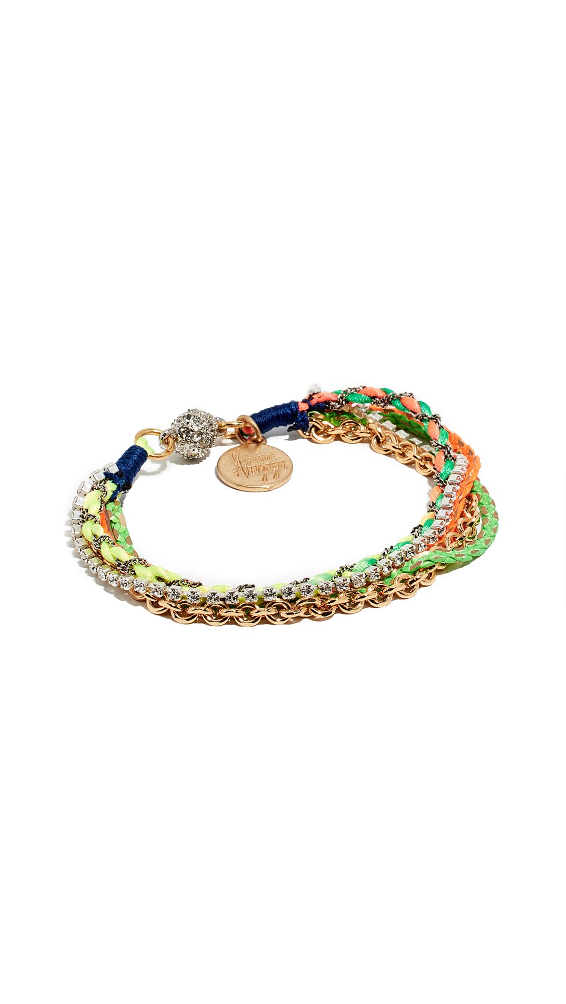VENESSA ARIZAGA She'S A Rainbow Bracelet in Multi