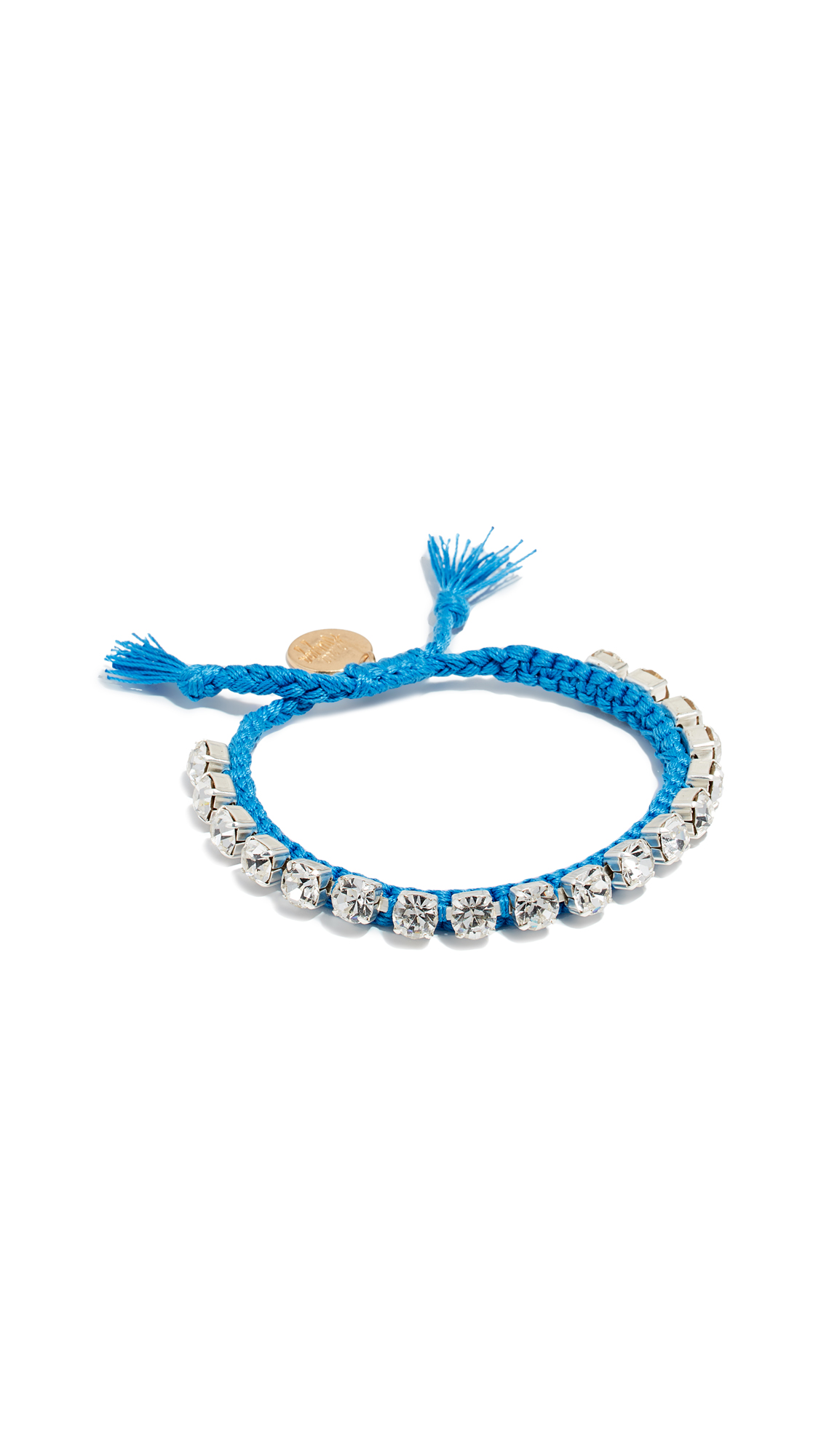 VENESSA ARIZAGA Sweet Shine Bracelet in Blue