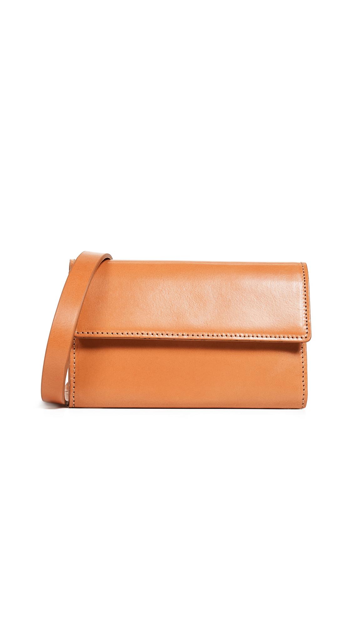 VEREVERTO Ado Convertible Belt Bag in Honey