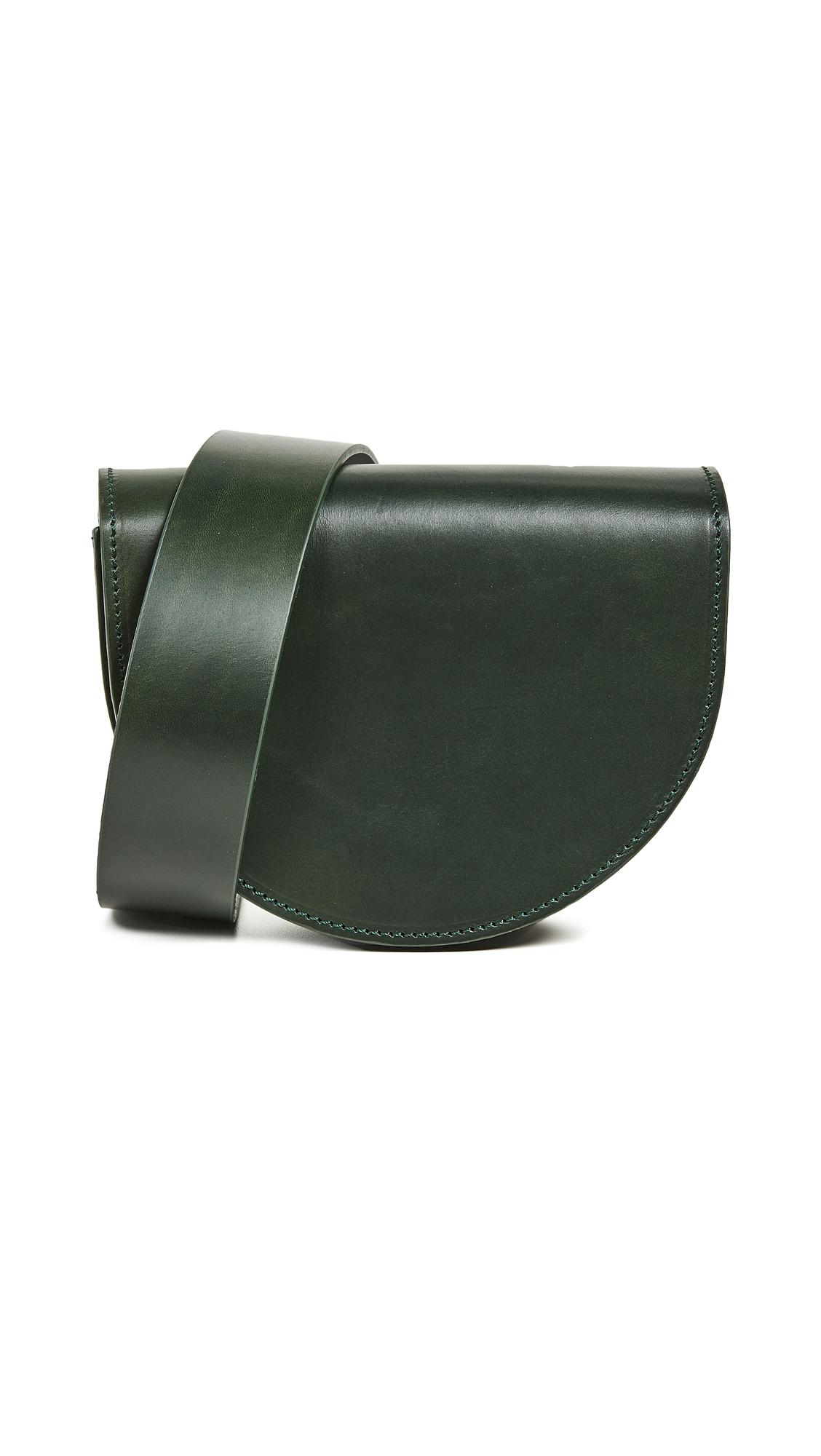 VEREVERTO Luna Belt Bag in Green