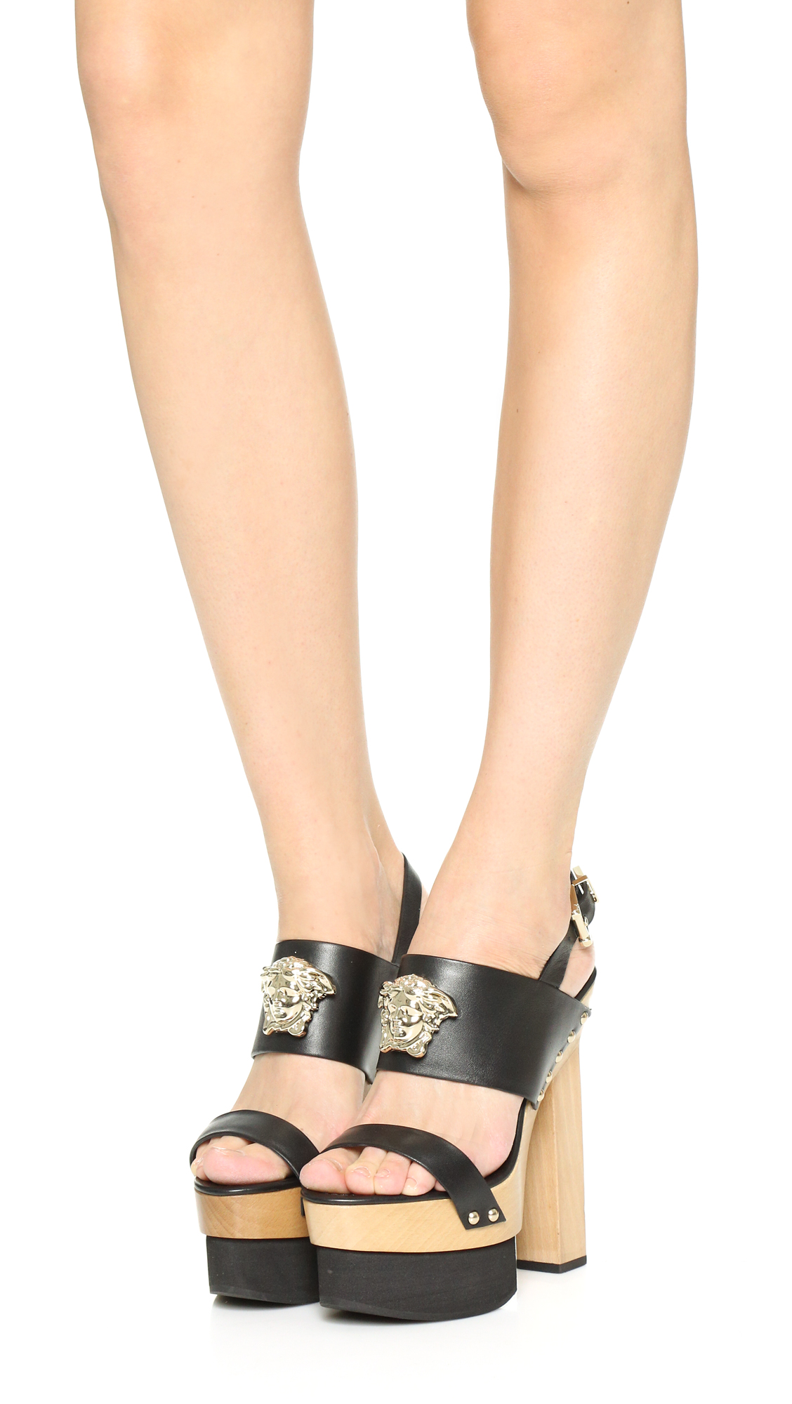 9a53dfad93b Versace Wedge Sandals